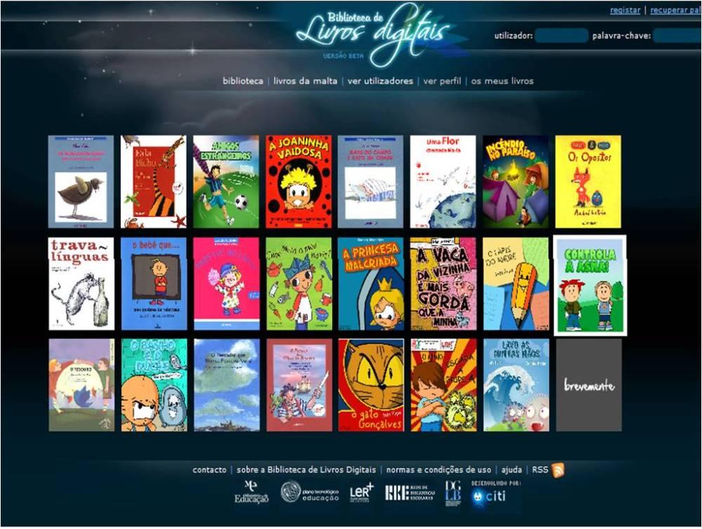 PNL:Livros digitais para crianças na Internet