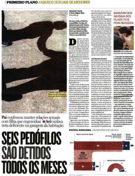 114 pedófilos detidos pela PJ em ano e meio