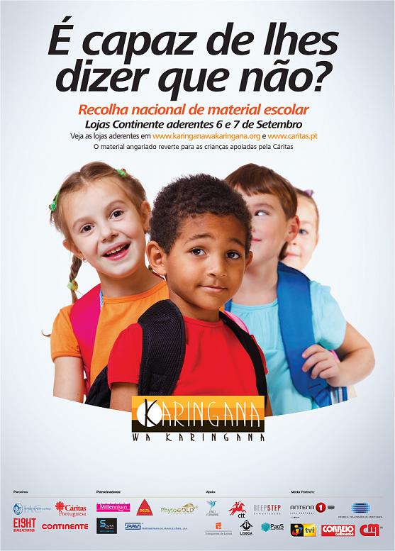 Fabuloso IAC apoia Campanha Nacional de Recolha de Material Escolar para  DM12