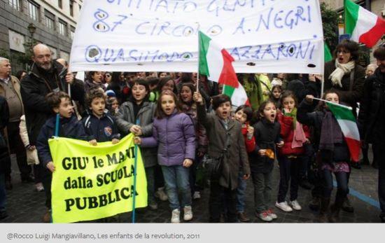 @Rocco Luigi Mangiavillano, Les enfants de la revolution, 2011
