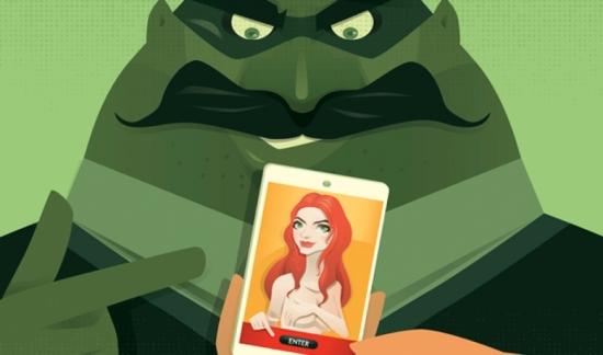 Com os smartphones, o sexting ganhou uma nova dimensão. Do envio de mensagens marotas passou-se para a troca de imagens e vídeos eróticos. O perigo desta prática é real e pode estar escondido nas teias da internet. Conheça os principais cuidados relativos ao sexting na galeria de imagens. (Fotografia Getty Images)