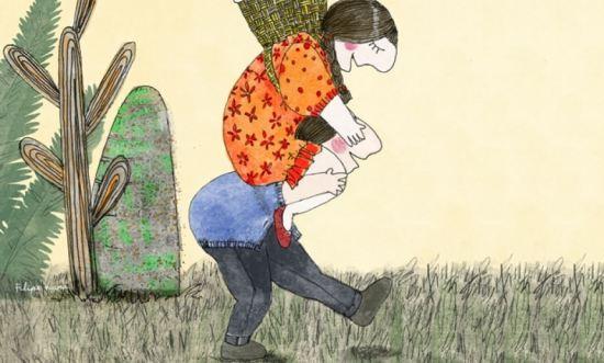 As crianças precisam de brincar, de estar com os outros e de aprender a lidar com situações de conflito e imprevistos. Veja na galeria de imagens o que pode fazer para potenciar as competências sociais do seu filho. (Ilustração Filipa Viana/Who) Leia mais: Potencie as competências sociais das crianças