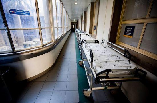 """Às urgências hospitalares chegam """"apenas os casos mais graves, a ponta do icebergue"""" RUI GAUDêNCIO"""